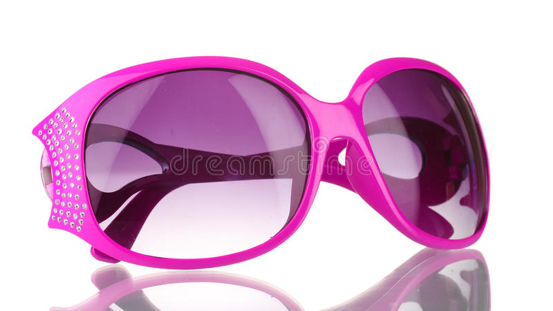 Sunglasses with diamonds stock images