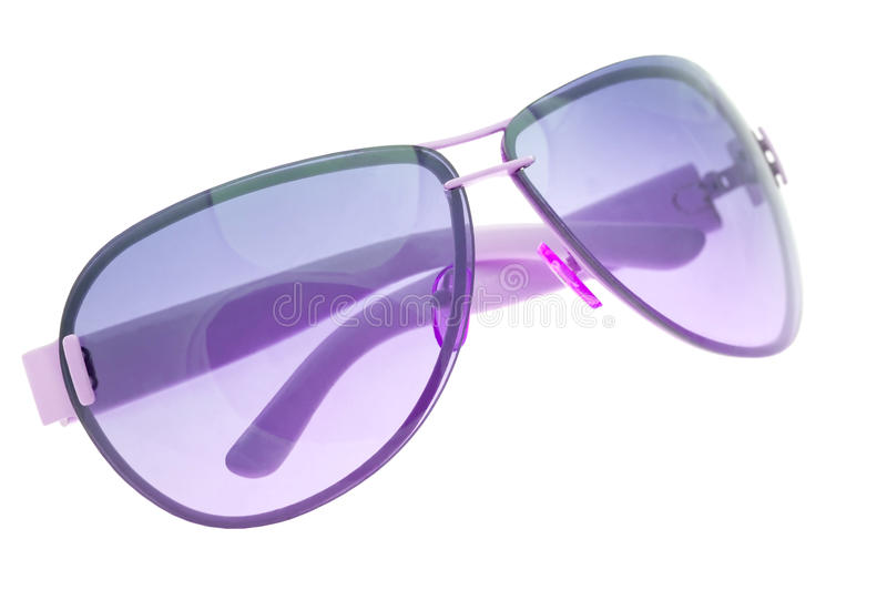 Sunglasses isolated on white stock photos