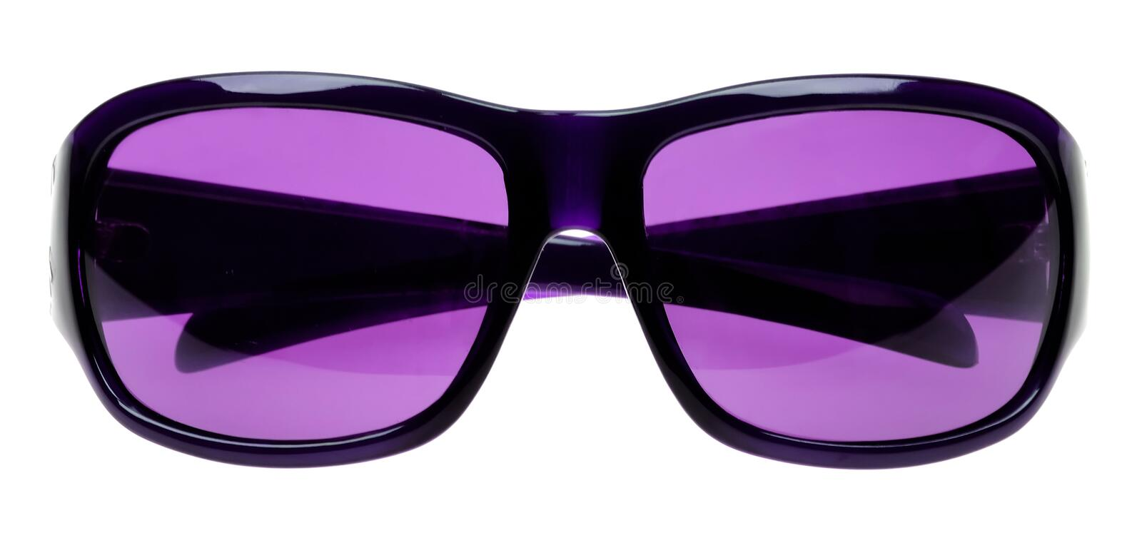 Sunglasses isolated on white royalty free stock image