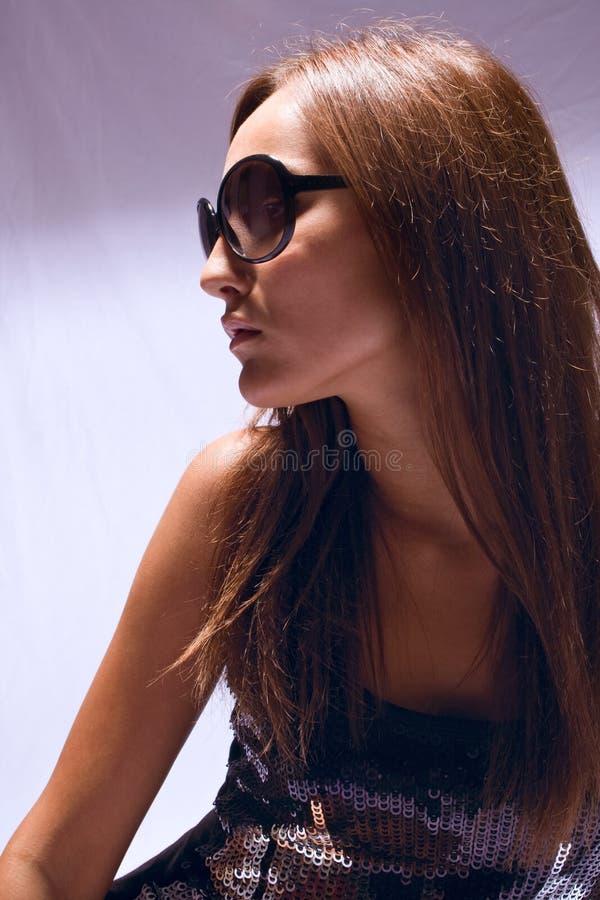 Sunglasses portrait royalty free stock photo