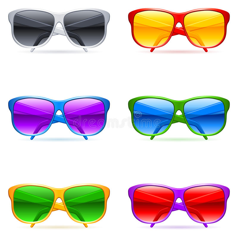 Download Sunglasses Set. Royalty Free Stock Photo - Image: 14918055
