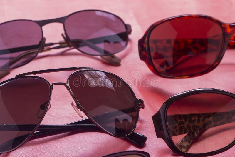 Sunglasses shop with unique sale lenses on discount for online f stock images