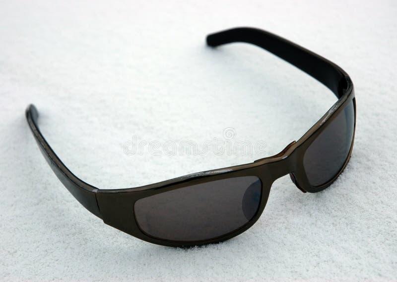 Sunglasses on to snow