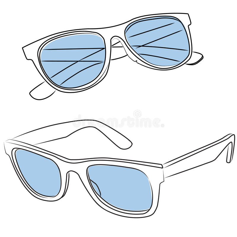 Sunglasses vector royalty free stock images