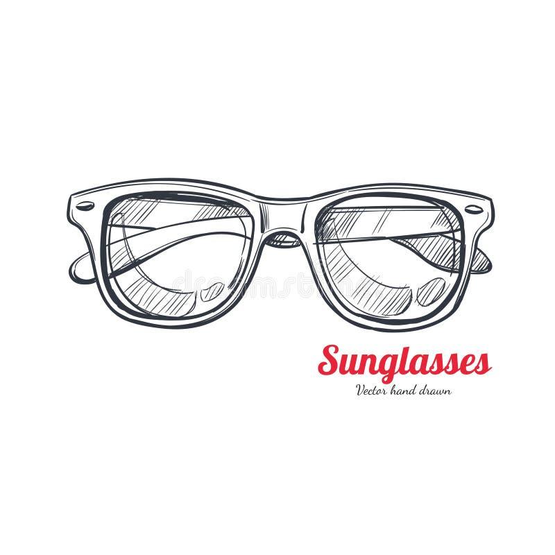 Free Sunglasses Vector Hand Drawn 1 Stock Image - 116170571