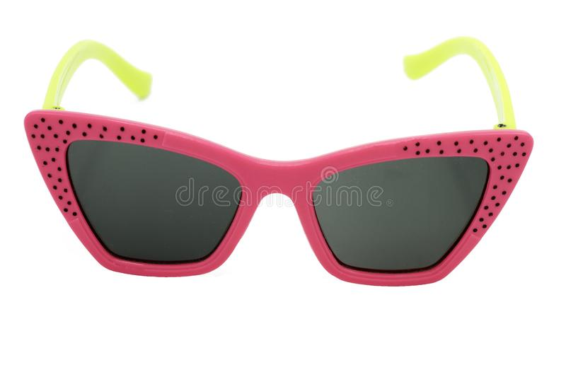 Sunglasses on a white background. royalty free stock photography