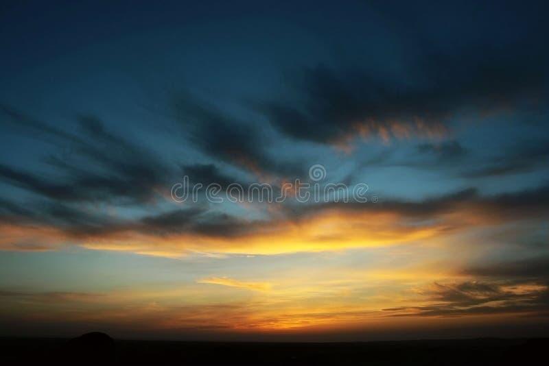 Sunglow stock foto's