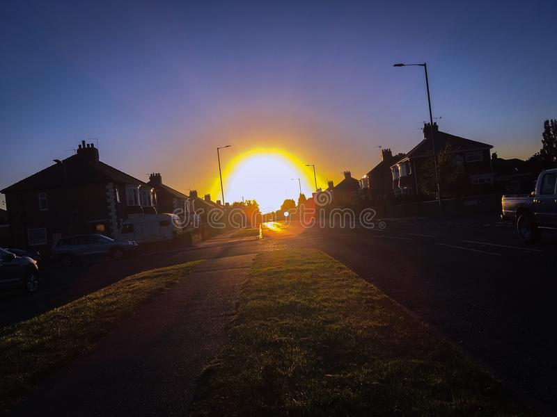 Sunglow στοκ εικόνα με δικαίωμα ελεύθερης χρήσης