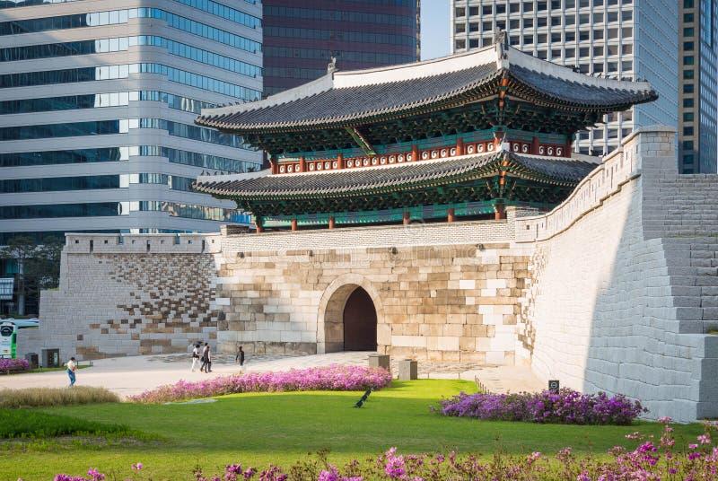 Sungnyemun gate in Seoul, South Korea. stock photography