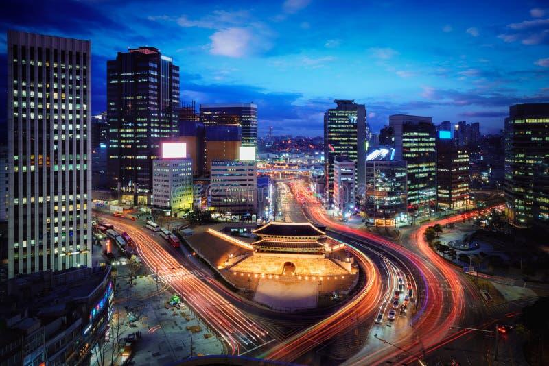 Sungnyemun port royaltyfri bild
