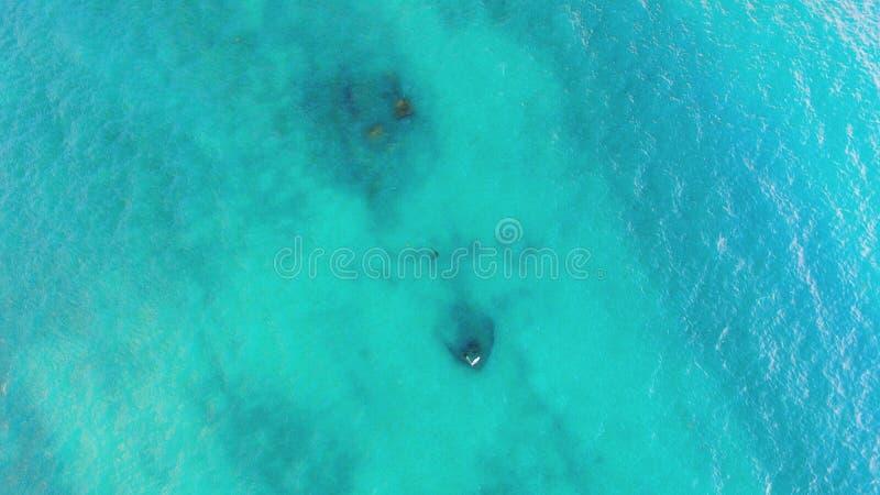 Sunken корабль с побережья Флориды стоковое изображение
