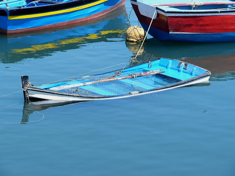 Download Sunken Boat Stock Photos - Image: 57963