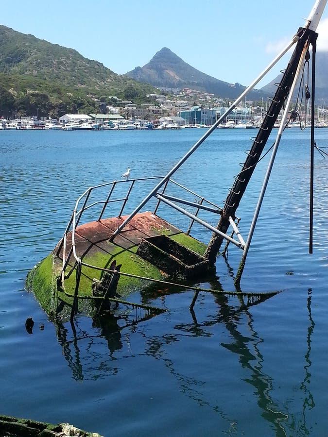 Free Sunken Fishermans Boat Royalty Free Stock Photo - 47381365
