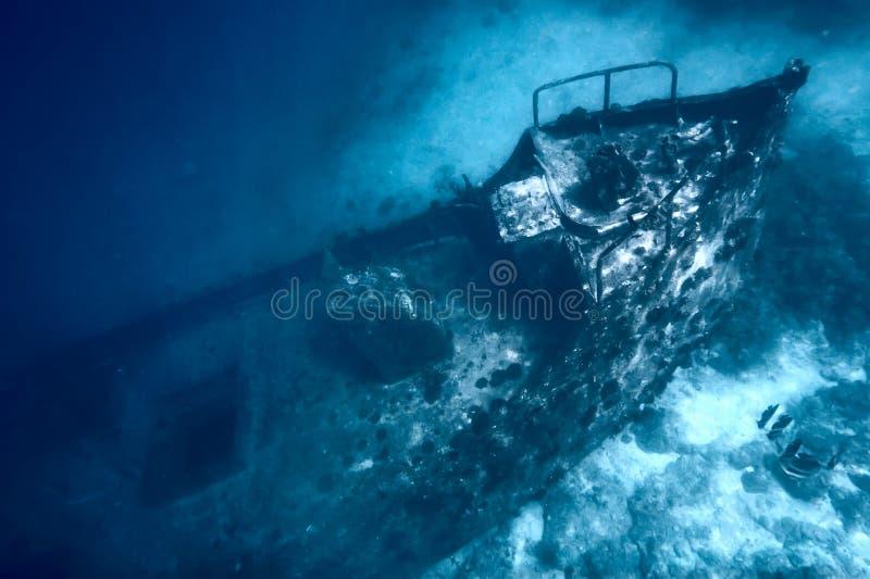 Download Sunken ship stock image. Image of sailing, diving, dark - 4401007