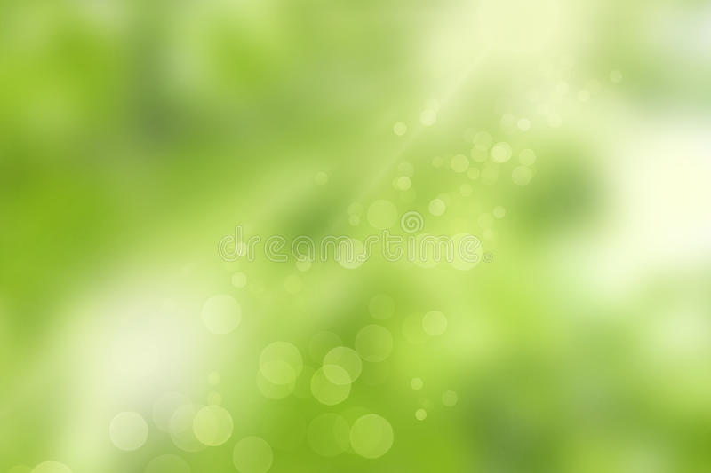 Sunlight and bokeh lights royalty free stock images