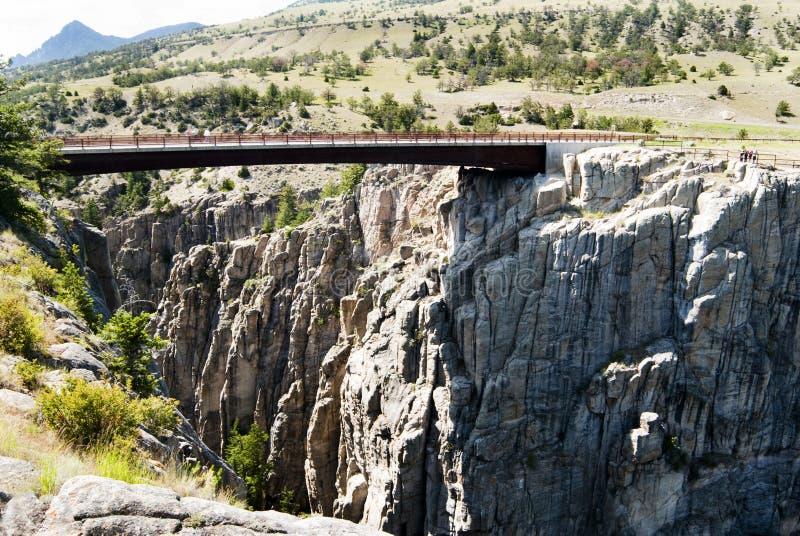 Sunlight Creek Gorge stock image