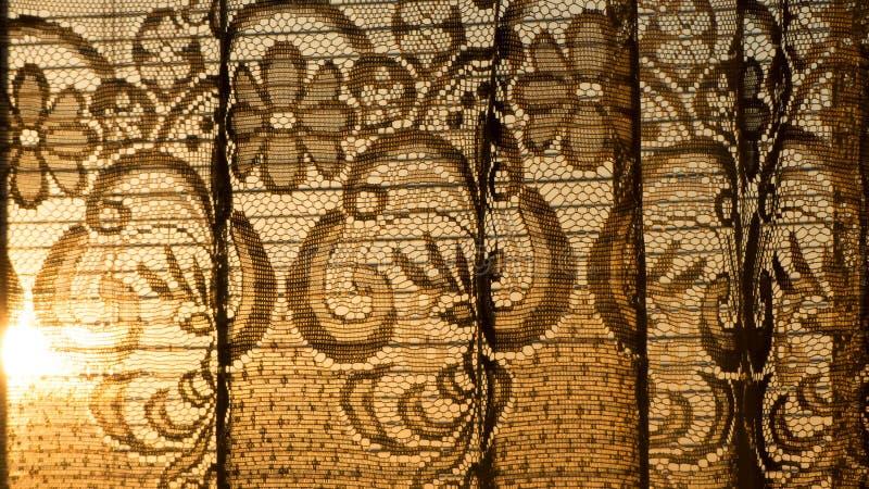 Sunlight entering dark room royalty free stock images