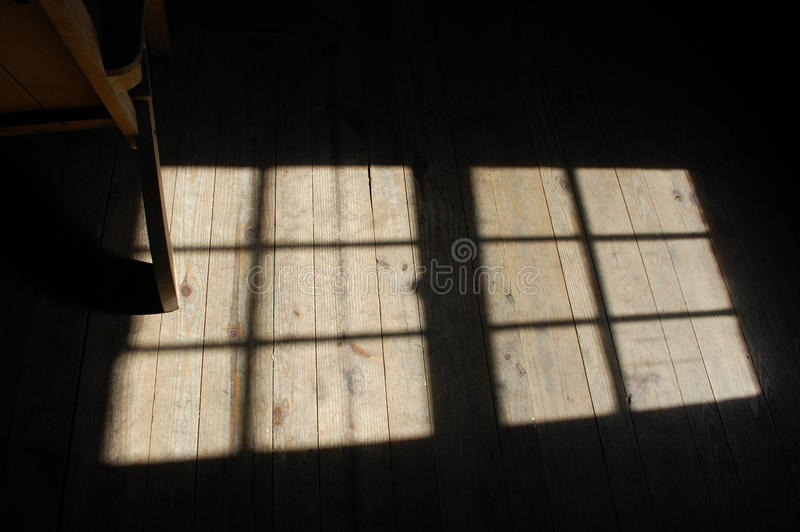 Sunlight On Floor Royalty Free Stock Images