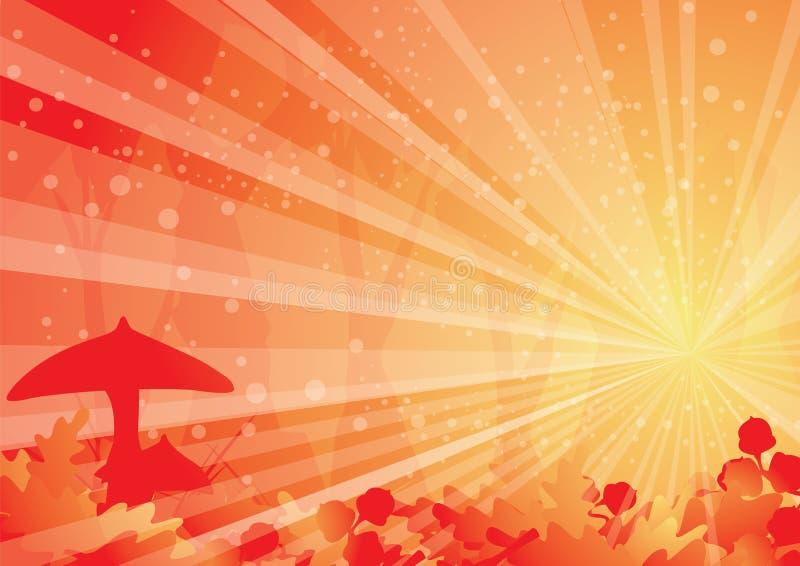Download Sunlight through oakwood stock vector. Image of thanksgiving - 21669338