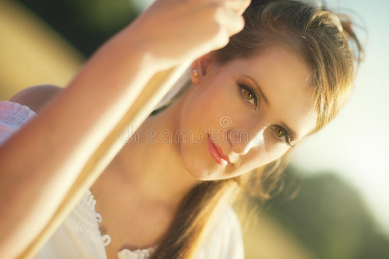 Download Sunlight romance stock image. Image of glamour, people - 26737173