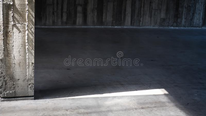 Sunlight shadow White grunge structural plaster texture background royalty free stock photography
