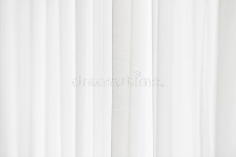 Sunlight through a white curtain stock images
