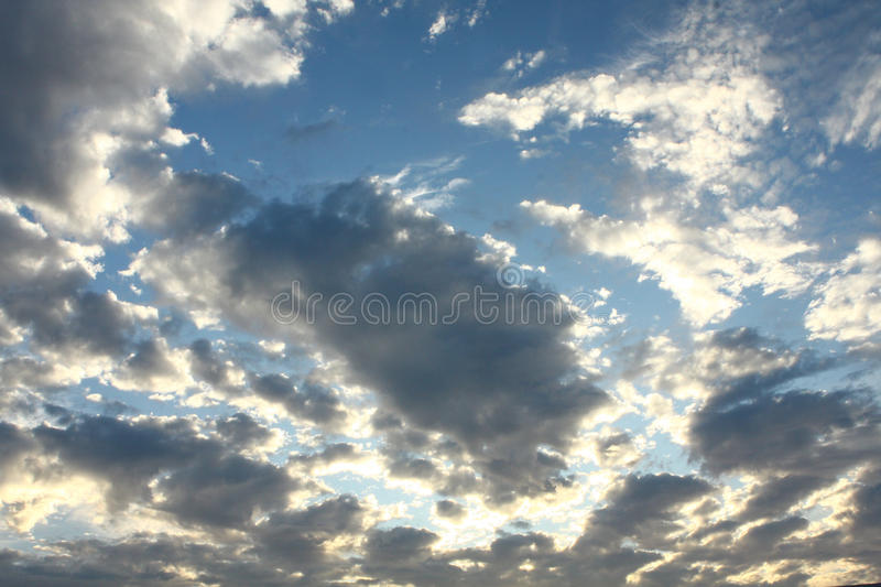 Download Sunlit clouds stock photo. Image of white, backlighting - 10940200