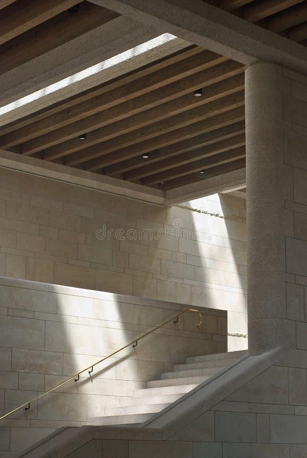 sunlit interior arkivbild