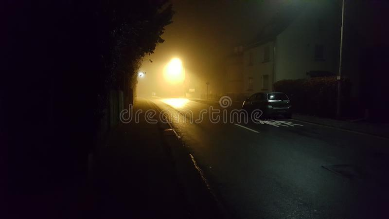 Sunnday natt fotografering för bildbyråer