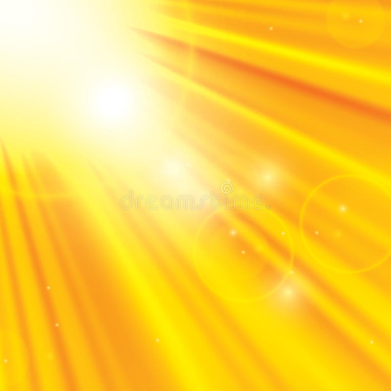 Sunny abstract background royalty free illustration