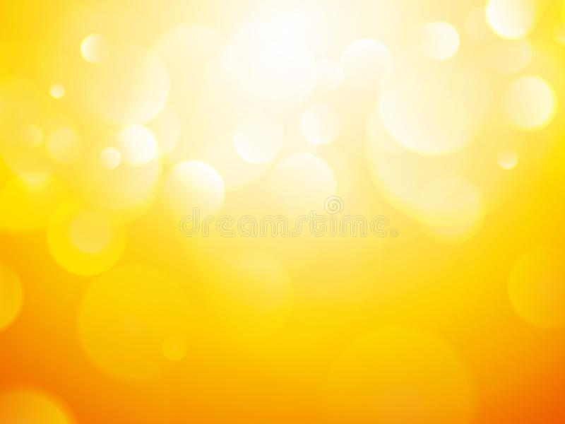 Sunny abstract summer background royalty free illustration