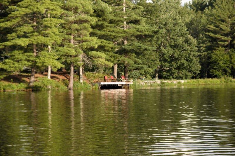 Sunny Afternoon no lago imagem de stock royalty free