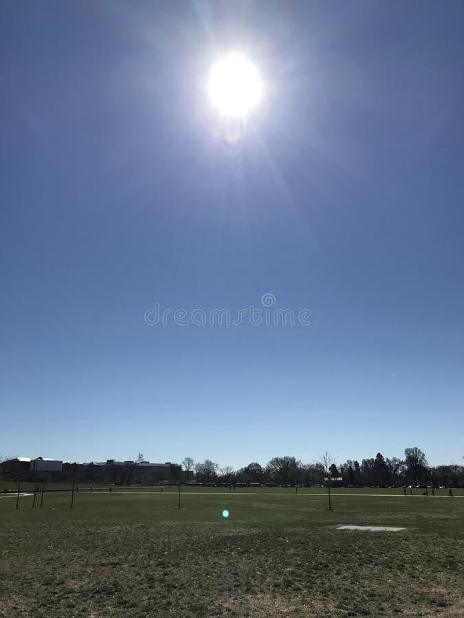 Sunny afternoon stock photos