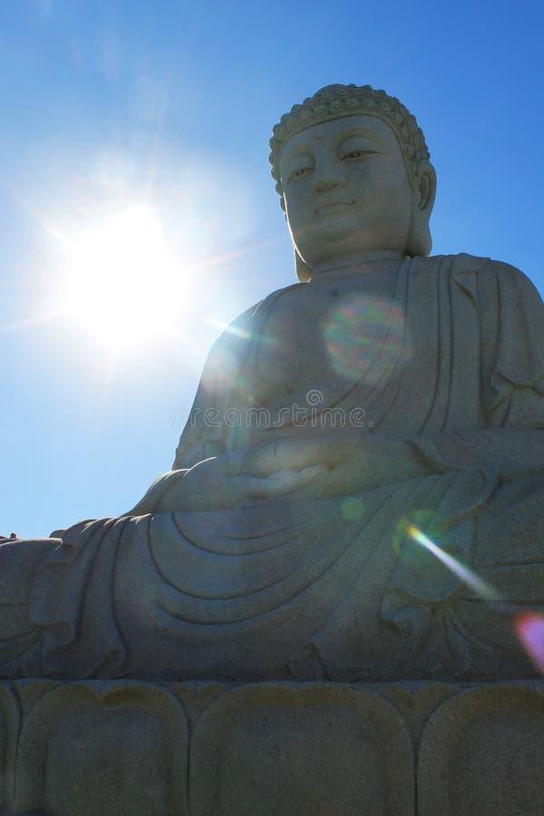 Sunny Amitabha Buddha, Chen Tien Temple - Foz font Iguaçu photos libres de droits