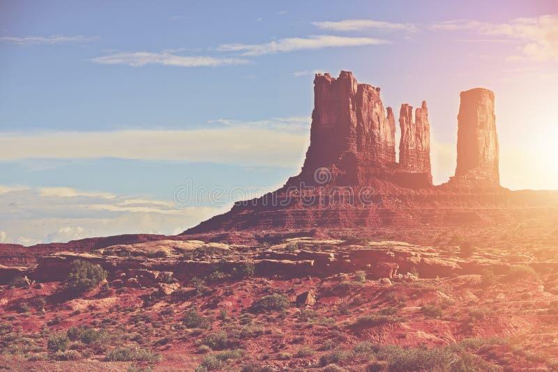 Sunny Arizona Landscape stock images