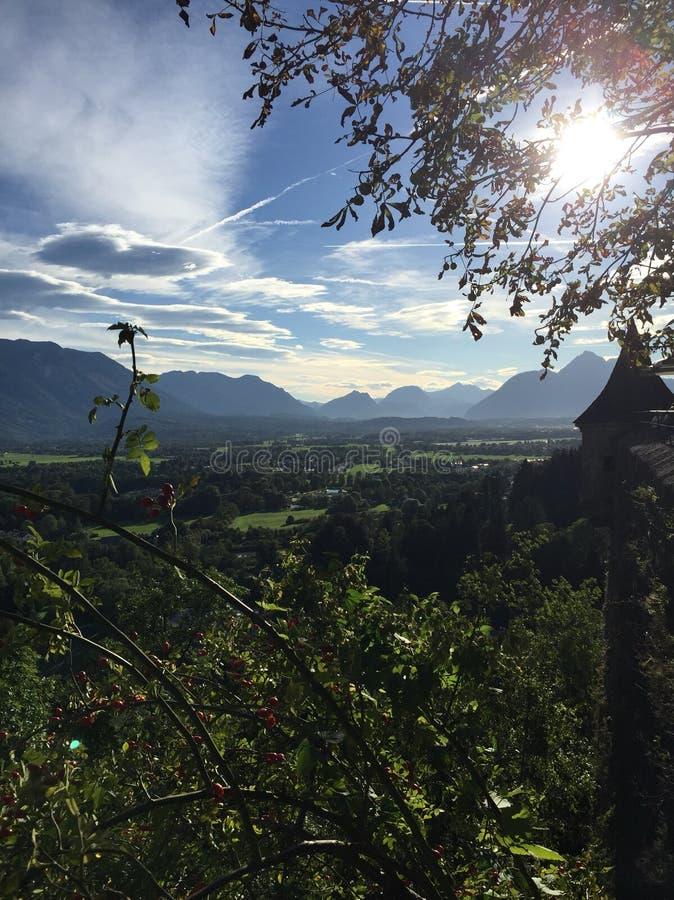 Sunny Austria fotografia stock libera da diritti
