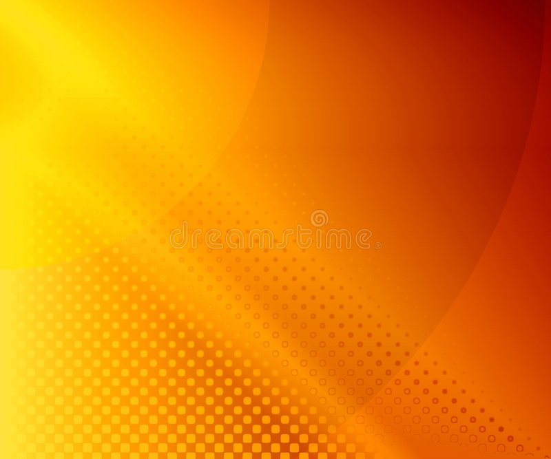 Sunny background. Abstraction orange background for design works