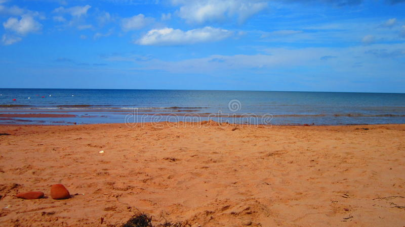 Sunny Beach Day royalty free stock photos