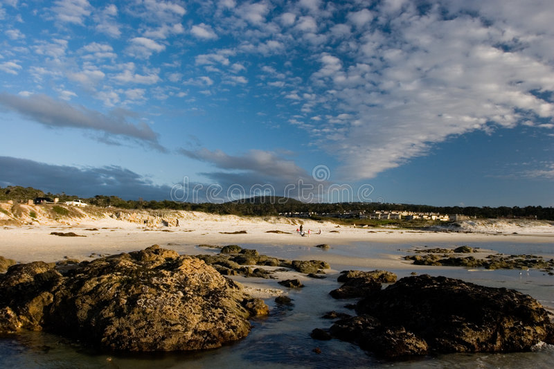 Sunny Beach Scenic royalty free stock images