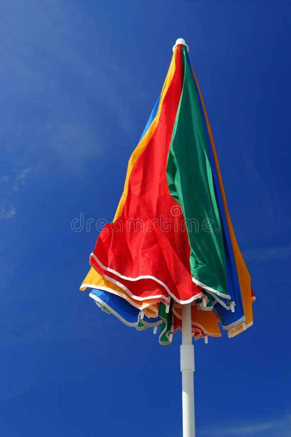 Download So Sunny! - Beach Umbrella stock photo. Image of vacation - 157898
