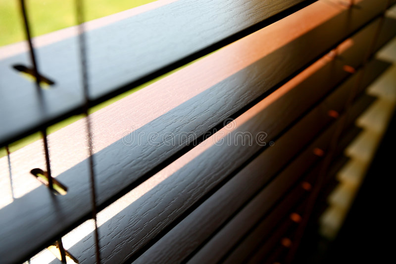 Sunny Blind royalty free stock photography