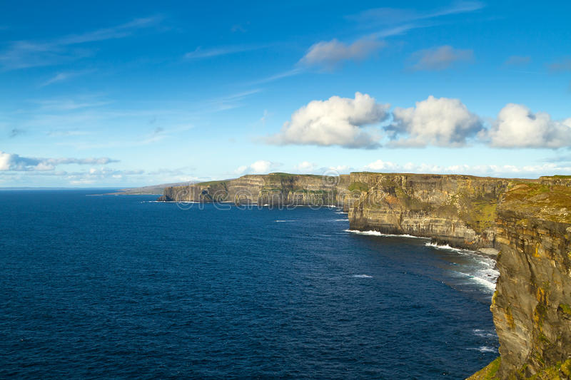 Download Sunny Cliffs of Moher stock photo. Image of epic, coastline - 24454184