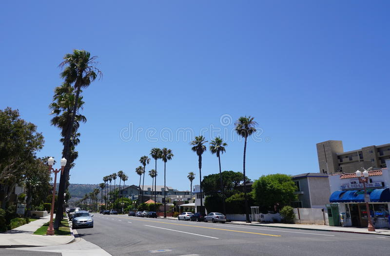 Sunny Day à Los Angeles image libre de droits