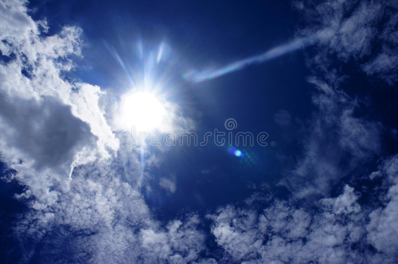 Download Sunny day stock image. Image of light, dark, summer, white - 15261891