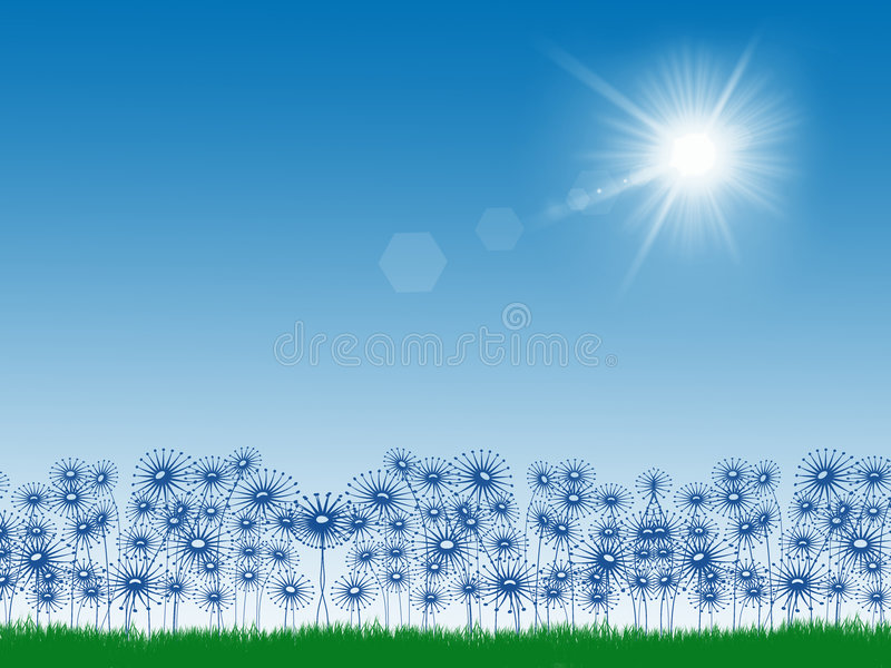 Download Sunny Day stock illustration. Image of spring, simple - 3932422