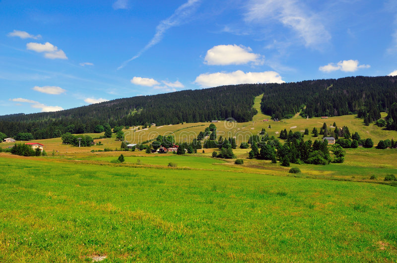 Download Sunny Day At The Alps Royalty Free Stock Photos - Image: 6390418
