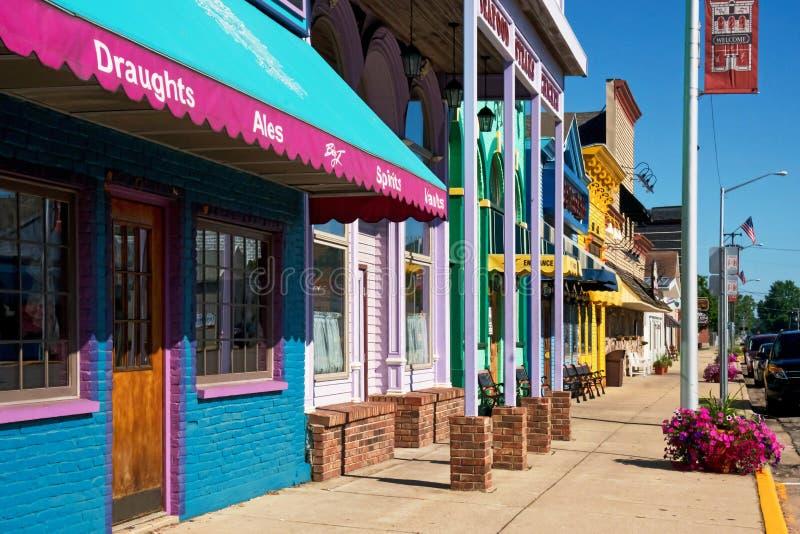 Sunny Day Downtown lizenzfreies stockfoto