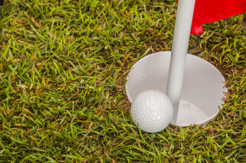 Download Sunny day on golf field stock photo. Image of golf, play - 34899662