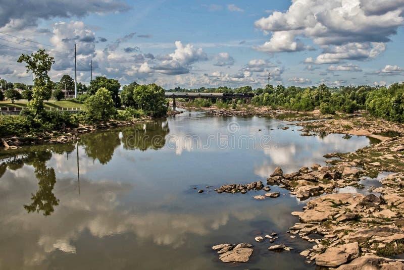 Sunny Day Reflections fotografia stock