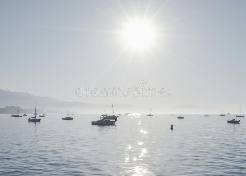 Sunny Day in Santa Barbara stock fotografie